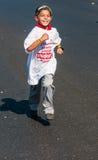 Niezidentyfikowani zabawy maratonu biegacze target521_1_ niezidentyfikowany zdjęcie stock