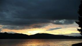 Niezmienny ujawnienie upływ, Dospat wschód słońca zdjęcie wideo