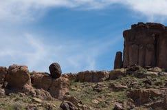 Niezwykłe formacje, Cerbat pogórzy ślad obrazy stock