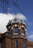 Niezwykły prowadzenie dachu budynek obraz royalty free