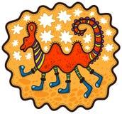 Niezwykły zwierzę z sześć nogami Obrazy Royalty Free
