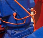 Niezwykłego rocznika hydrauliczny agregat Obrazy Stock