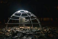Niezwykły uliczny lampion Fotografia Stock