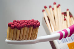 niezwykle toothbrush Zdjęcia Stock
