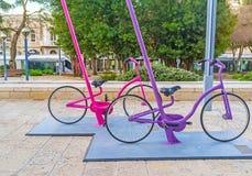 Niezwykli cykle Fotografia Royalty Free