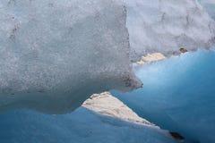 Nigardsbreen é uma geleira em Noruega Fotos de Stock