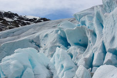 Nigardsbreen glacier, an arm of the Jostedals glacier, is a popular tourist attraction Stock Images