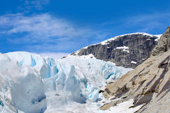 Nigardsbreen glacier Stock Image