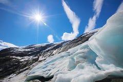Nigardsbreen glacier Stock Images