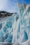 Nigardsbreen Glacier, Jostedalsbreen National Park, Norway Stock Photos