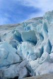 Nigardsbreen Glacier, Jostedalsbreen National Park Stock Photos
