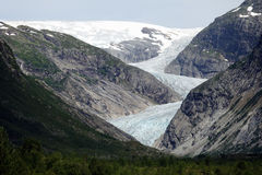 Nigardsbreen Glacier, Norway Royalty Free Stock Photography