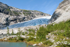 Nigardsbreen glacier in Norway Stock Image