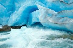 Nigardsbreen Glacier (Norway) Royalty Free Stock Image