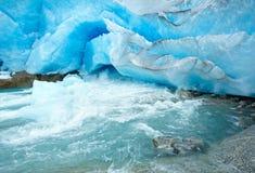 Nigardsbreen Glacier (Norway) Stock Photography