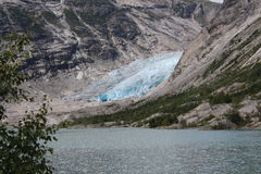 Nigardsbreen is a glacier in Norway. Stock Image