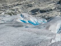 Nigardsbreen Glacier in Sogn Fjordane - Norway.  Stock Photos