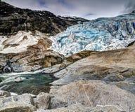 Nigardsbreen lodowiec, Norwegia Obrazy Stock