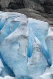 Nigardsbreen lodowiec - Norwegia zdjęcie royalty free