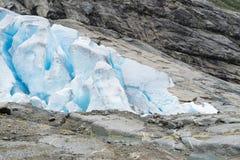 Nigardsbreen lodowiec - Norwegia zdjęcia royalty free