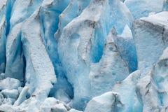 Nigardsbreen lodowiec - Norwegia obrazy stock