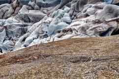 Nigardsbreengletsjer, Noorwegen Royalty-vrije Stock Foto