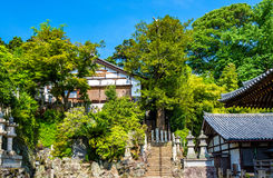 Nigatsu-do, a hall of Todai-ji temple in Nara Royalty Free Stock Photo