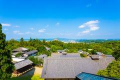 Nigatsu-do Hall View Of Roofs Landscape Todai-ji Royalty Free Stock Photos