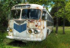 nigdzie autobusowy status obraz stock