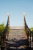 nigdzie footbridge zdjęcia royalty free