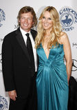 Nigel Lythgoe and Alana Stewart Royalty Free Stock Images