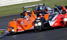 Nigel MANSELL (de Reeks van Le Mans) Royalty-vrije Stock Foto