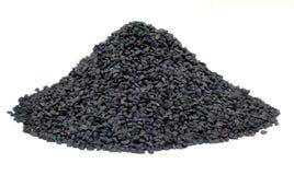 Nigella Sativa- oder schwarzer Kreuzkümmel Stockfotografie