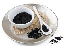 Nigella Sativa Seed stock images