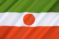 Niger bandery Zdjęcia Stock