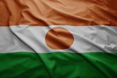 Niger bandery Obraz Stock