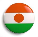 Niger Flag Fotos de archivo libres de regalías