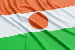 Niger Flag Royalty-vrije Stock Afbeelding