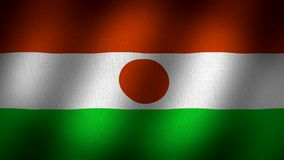 Niger flag vector illustration