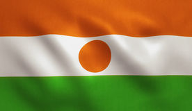 Niger Flag Royalty Free Stock Photos