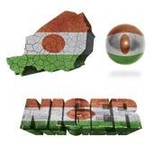 Niger Symbols Fotografia Stock