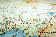 Nigeria. The way we looked at it in 1949 stock images