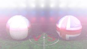 Nigeria contra Islandia Mundial 2018 de la FIFA Vídeo original 3D