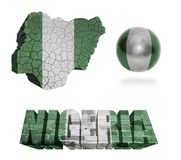 Nigeria Symbols Stock Photography