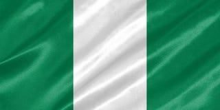 Nigeria-Flagge vektor abbildung