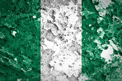 Nigeria-Flagge Stockfotos