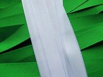 Nigeria-Flagge oder -fahne lizenzfreies stockbild
