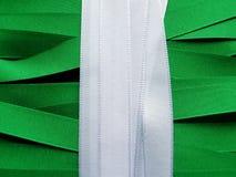 Nigeria-Flagge oder -fahne lizenzfreie stockbilder