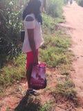 Nigeria girl stock images