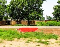 Nigeria im Sommer lizenzfreie stockbilder